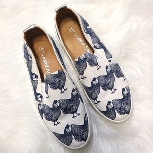 Ottod'ame rooster platform shoes